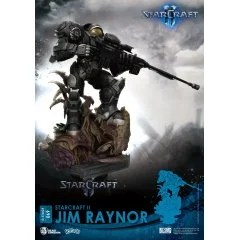STARCRAFT II DIORAMA STAGE: JIM RAYNOR Beast Kingdom