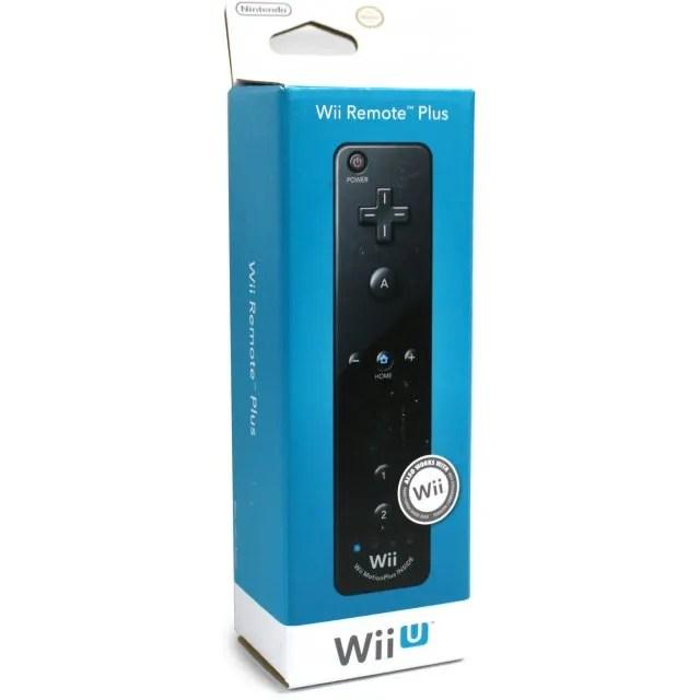 Wii U Remote Plus Control (Black)
