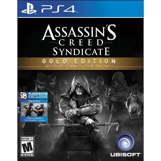 Assassin S Creed Syndicate Gold Edition