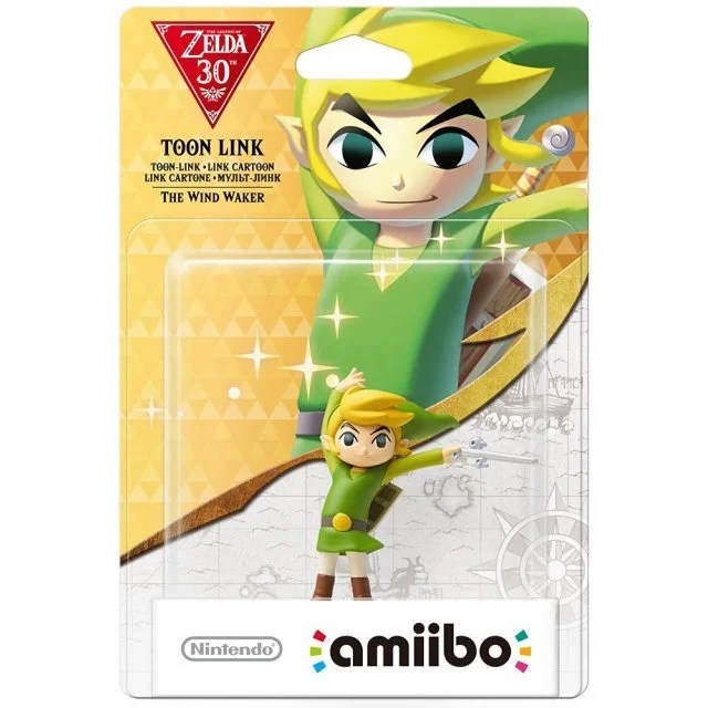 Amiibo The Legend Of Zelda The Wind Waker 30th