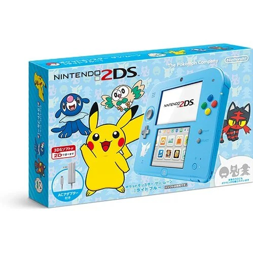 nintendo 2ds pokemon sun