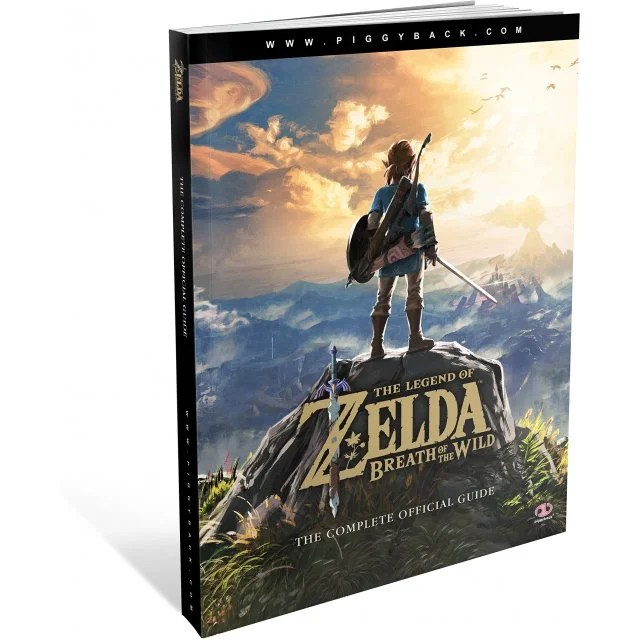 The Legend of Zelda: Breath of the Wild: The Complete Official Guide (Paperback)