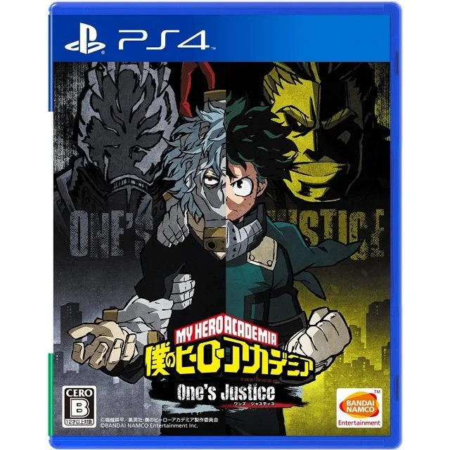 Boku No Hero Academia Ones Justice