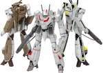 THE SUPER DIMENSION FORTRESS MACROSS 1/100 SCALE MODEL KIT: VF-1 [A / J / S] BATTROID MULTIPLEX