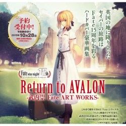 RETURN TO AVALON - TAKASHI TAKEUCHI FATE ART WORKS