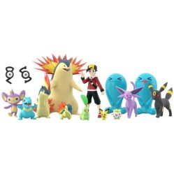 POKEMON SCALE WORLD JOHTO SET