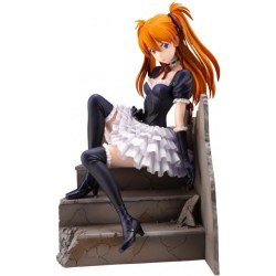 EVANGELION 1/7 SCALE PRE-PAINTED FIGURE: ASUKA SORYU LANGLEY -GOTHIC LOLITA VER.- :RE