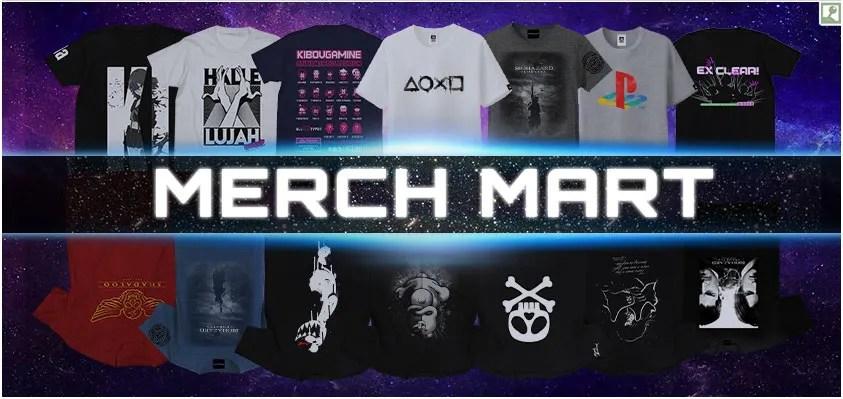 Merch Mart - All Merchandise, Including Girls' Last Tour