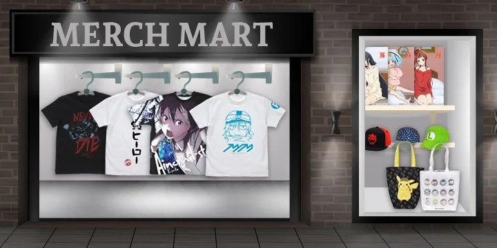 Merch Mart - All New Merchandise, Including One Punch Man
