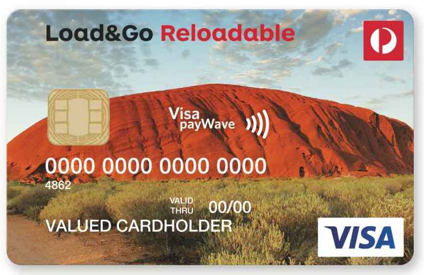 australia post load go reloadable visa prepaid questions answers - Load Prepaid Card