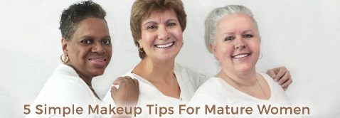 5 make up tips for mature women