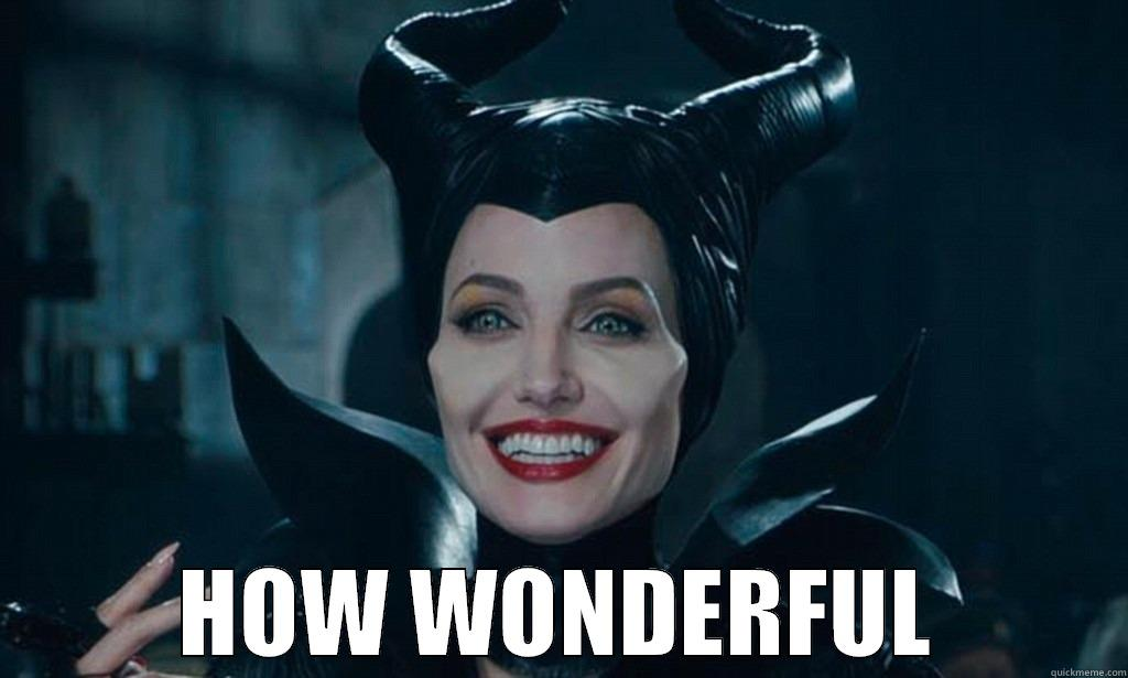 Image result for how wonderful maleficent gif