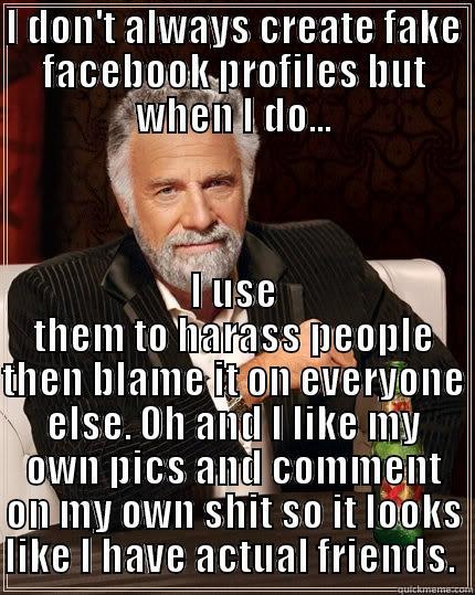fake internet profiles