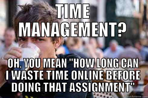 Image result for time management meme