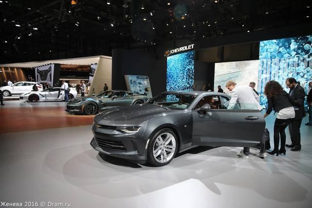 Экспозиция Chevrolet