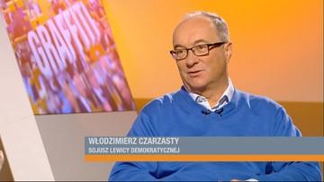 21-10-2016 09:42 Czarzasty: Kaczyński zmusi do rodzenia, a Kościół zarobi na chrztach i pogrzebach