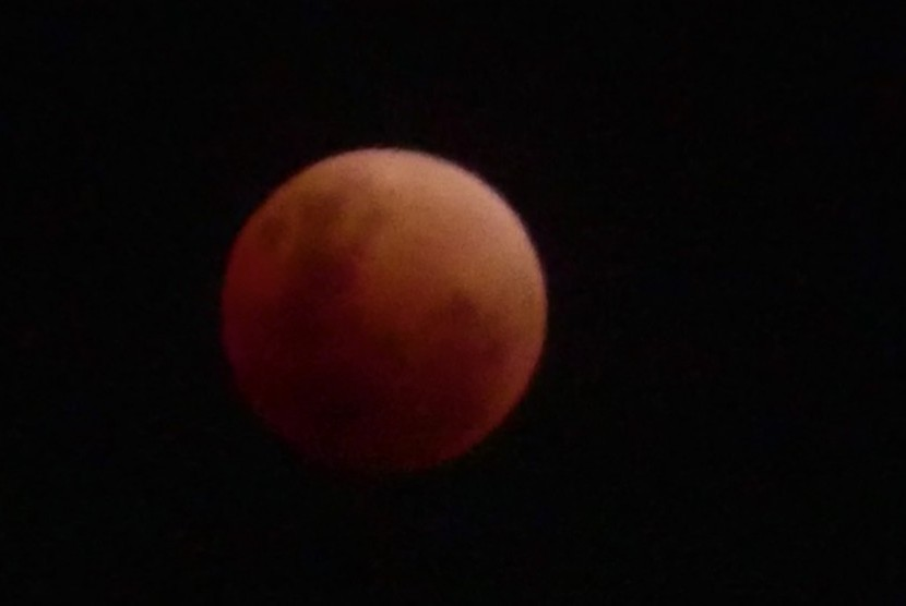 Penampakan gerhana bulan, Super Blue Blood Moon
