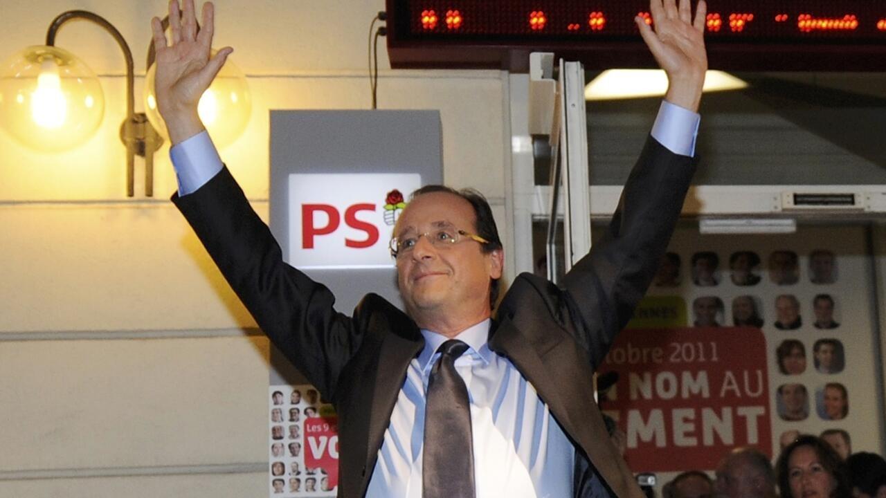 奧朗德被選為2012社會黨總統候選人