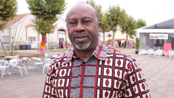 Burkinabè Hassane Kassi Kouyaté, director of Zébrures d'Automne, in Limoges.