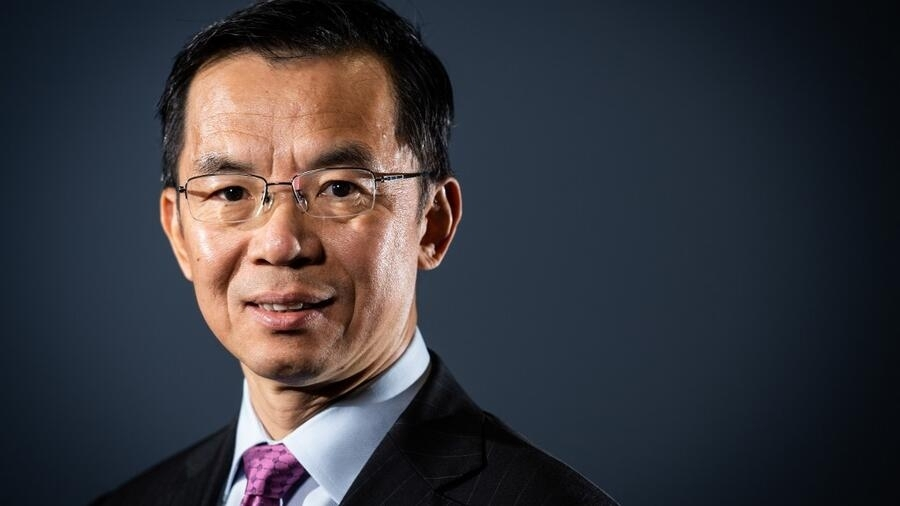 Đại sứ Trung Quốc tại Pháp Lư Sa Dã. Ảnh tư liệu chụp ngày 10/09/2019.