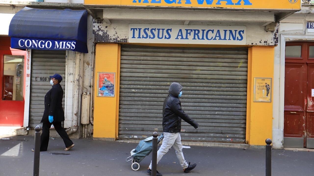 法國新冠疫情似乎放緩了腳步 商家要求11月27日黑色星期五就重新開業