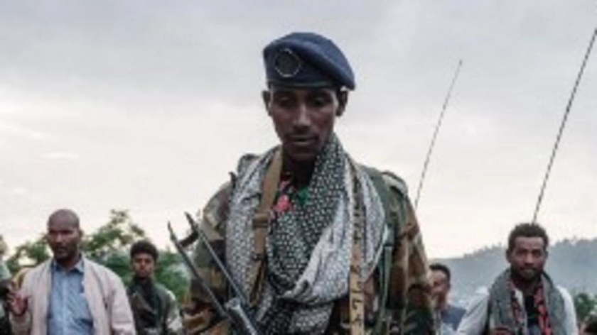 Soldiers of the Tigray Rebel Forces in Mekele. (Photo Illustration).