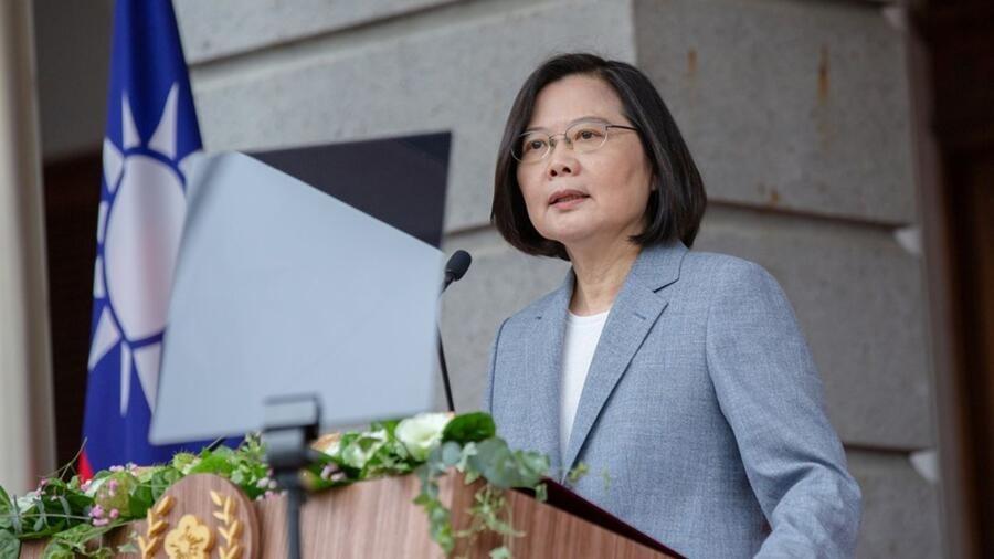 获颁约翰·麦凯恩奖 蔡英文:全体台湾人民的荣耀 获颁约翰·麦凯恩奖 蔡英文:全体台湾人民的荣耀