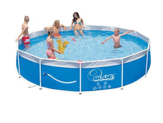Speedy Pool Frame Zwembad Steel Set Cm Met Ingebouwde Pomp