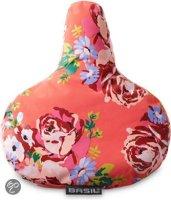 Basil Blossom Roses 50349 - Zadel Cover - Koraal
