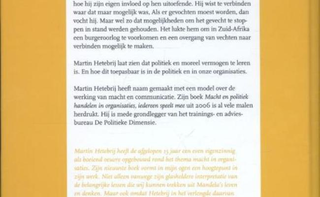 Bol Politiek Meesterschap Martin Hetebrij