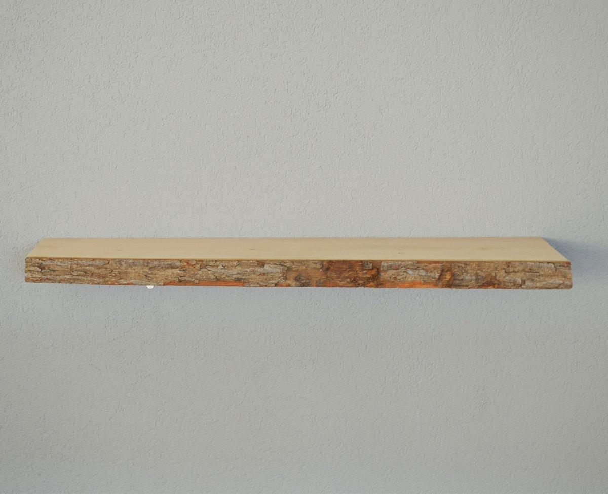 Plank Met Blinde Ophanging.Boekenplank Keuken Maatwerk Wandplank Massief Hout Blinde Bevestiging