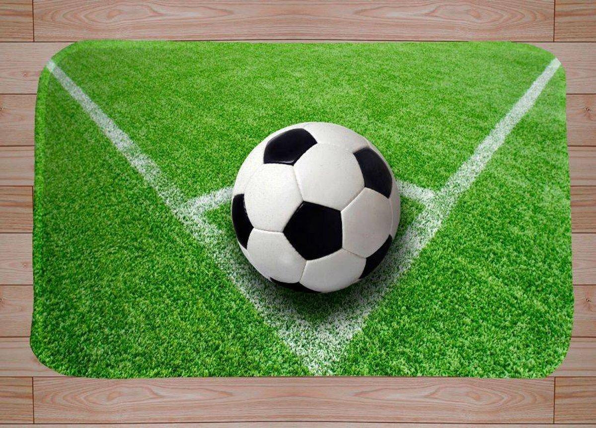 Bedwelming Voetbal Vloerkleed Kinderkamer DZV03  AgnesWaMu