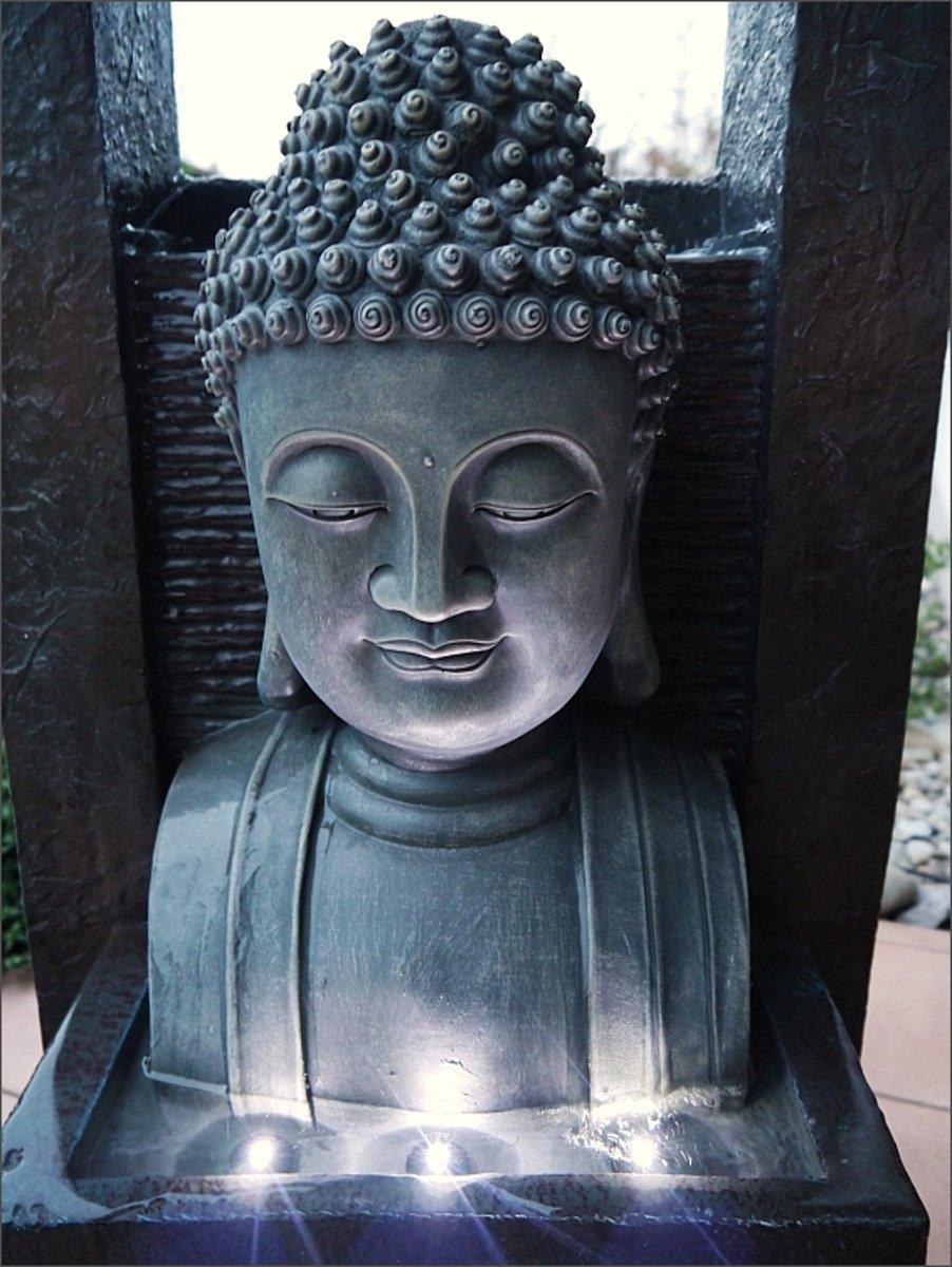 Boeddha Met Led Verlichting