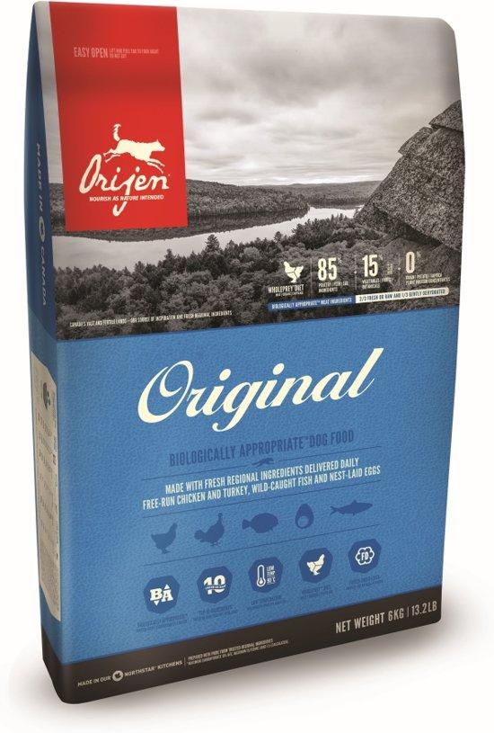 bol.com   Orijen Whole Prey Original Dog - Kip & Kalkoen - Hondenvoer - 2 kg