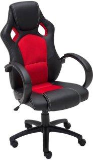 Clp Gaming-stoel - Racing bureaustoel FIRE - Sport seat Racing design - rood