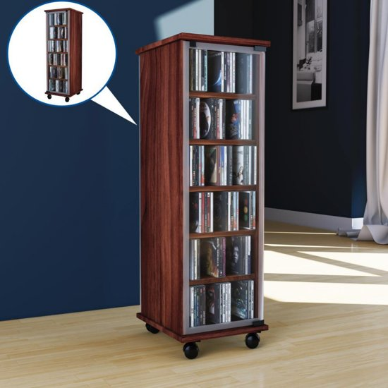 Cd Opbergkast Leslie Dame 288 Cd Storage Cabinet Oak Ebay