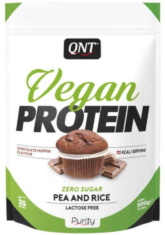 Vegan proteine poeder chocolade