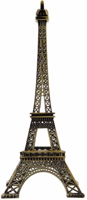 bolcom  Eiffeltoren Parijs 25cm beeldje Eiffel Toren