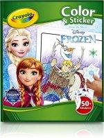 Frozen kleurboek 4 jaar