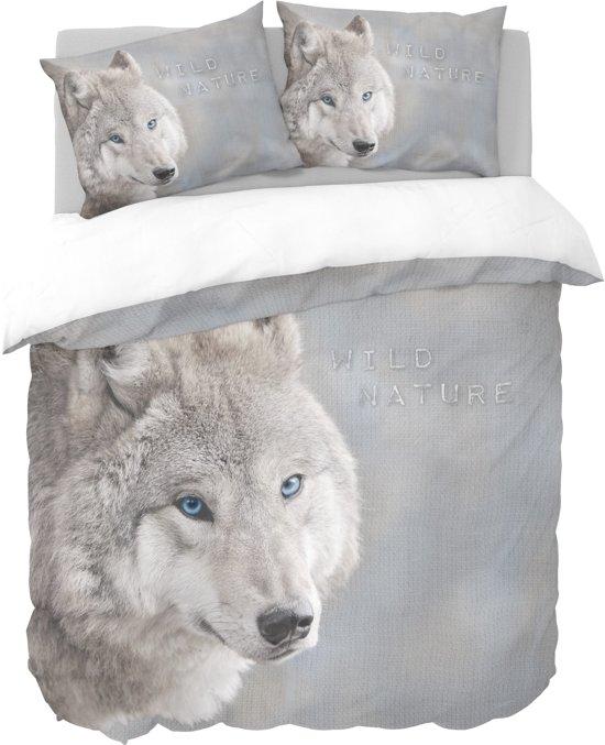 bolcom  Nightlife Dekbedovertrek White Wolf 240x200220