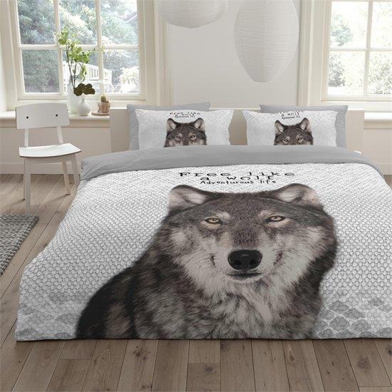 bolcom  Essara Dekbedovertrek Wolf140x200220