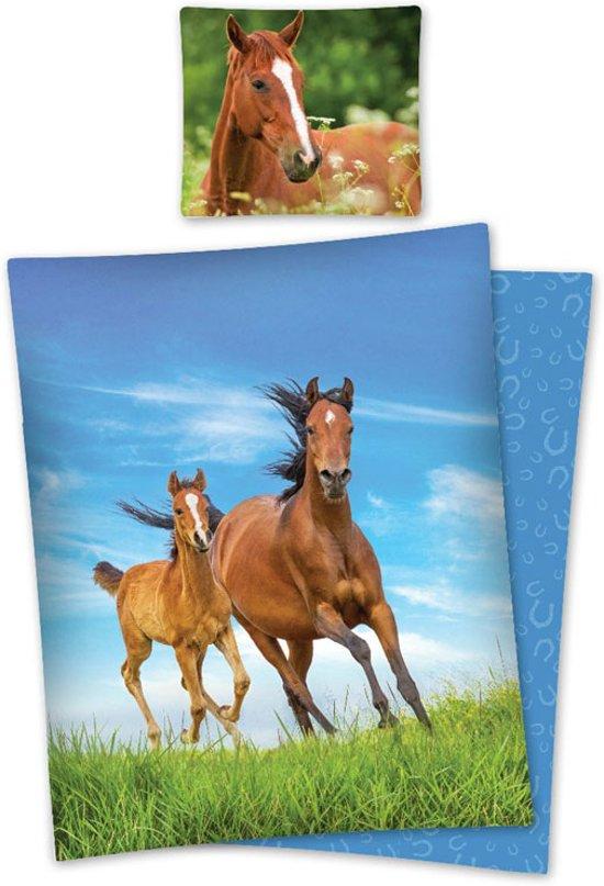 bolcom  Dekbedovertrek Paard met Veulen