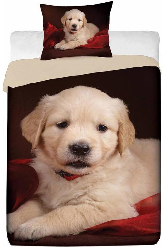 bolcom  Animal Pictures Puppy  Dekbedovertrek