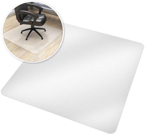 great free tectake mat x cm wit voor with bureaustoel