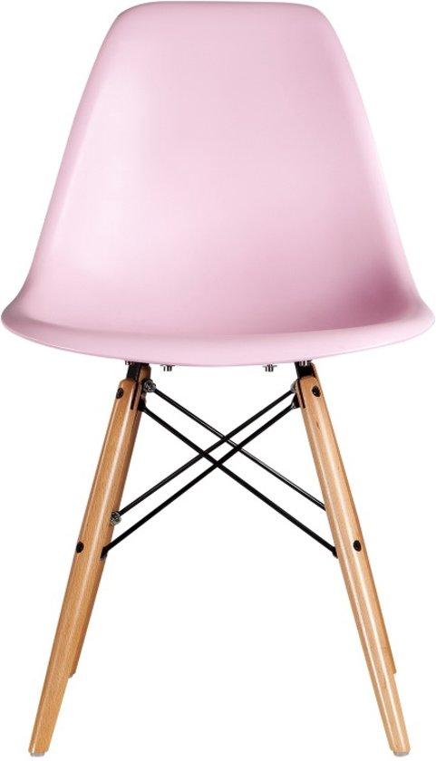 bolcom  Trendy DSW Stoel in Roze