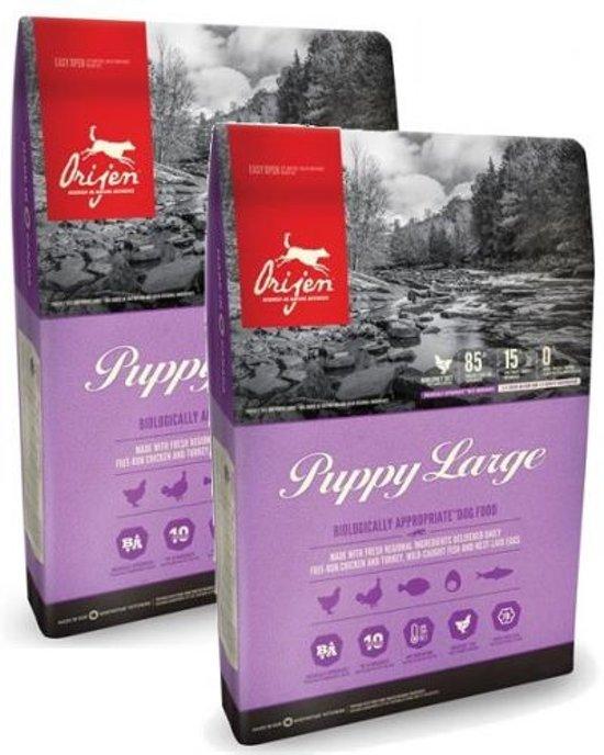 bol.com   Orijen Puppy Large Breed - Hondenvoer - 2 x 11.4 kg