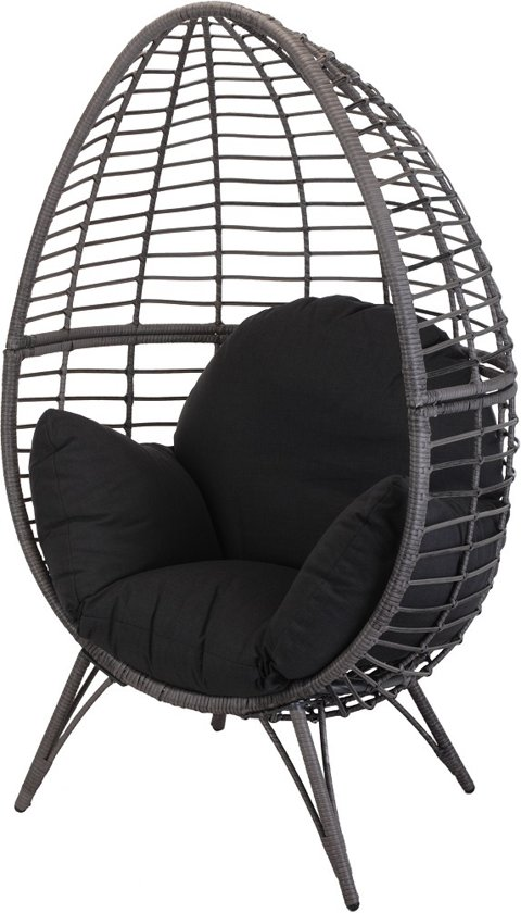 Hangstoel Rotan Buiten.Egg Chair Tuin