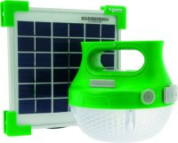 bol.com | SCHNEIDER Mobiya oplaadbare solar lamp met ...