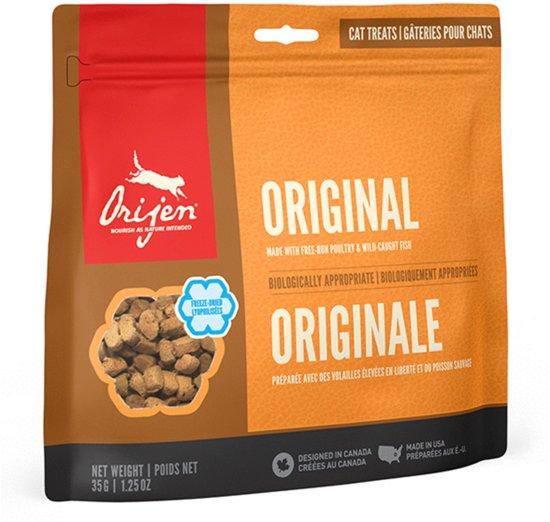 bol.com   Orijen Cat Freeze-Dried Treats Original - Kattensnacks - 35 g
