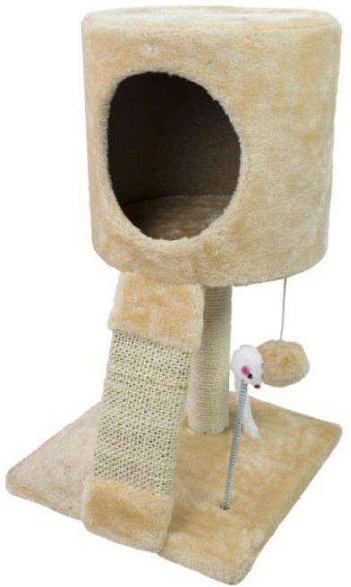 bolcom  Katten Speeltoren  Krabpaal met Speelbal en Muis
